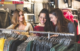 Designer clothes shops in Barcelona
